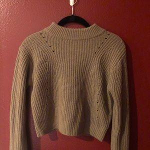 Kendall & Kylie crop sweater